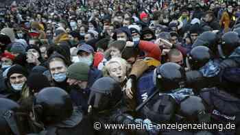 Nawalny-Proteste in Russland: Tausende Festnahmen - Video von brutalem Polizei-Einsatz sorgt für Entsetzen