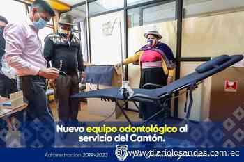 Nuevo equipo odontológico llegó a Guaranda - Diario Los Andes