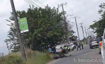 Previas : En grave accidente fallecieron dos motociclistas en la Avenida Cañasgordas de Cali - 90 Minutos
