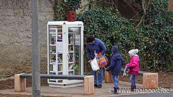 Bergtheim Öffentlichen Bücherschrank in Bergtheim aufgestellt - Main-Post