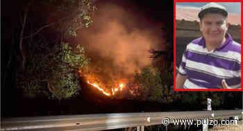 Murió joven que resultó quemado evitando que incendio forestal acabara con su casa - Pulzo