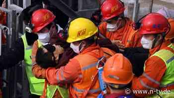 Zwei Wochen nach Unglück: Verschüttete Bergleute in China gerettet