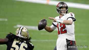 Ein Sieg fehlt zum Super Bowl: Brady ist der neue König der Seeräuber