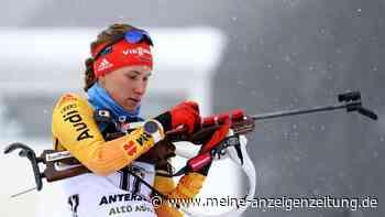 Biathlon jetzt im Liveticker: Hinz vorne dabei, deutsche Staffel will aufs Podest
