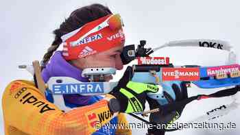 Biathlon jetzt im Liveticker: Deutsche Staffel vorne dabei, Herrmann auf der Strecke