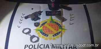Polícia PMDF prende homem com pistola em condomínio no Guara II - Pelo Mundo DF