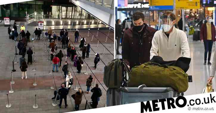 High risk UK arrivals 'to be quarantined in hotel for ten days'