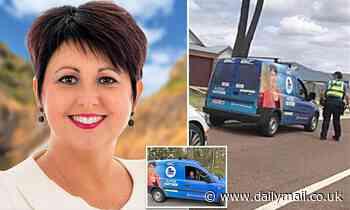 Western Australian MP Alyssa Hayden is caught by police speeding in her campaign van