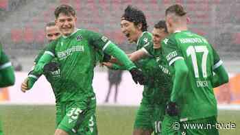 Kiel und Bochum folgen dem HSV: Hannover 96 vermöbelt den 1. FC Nürnberg
