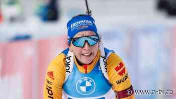 """Zittern am Biathlon-Schießstand: Die """"Nähmaschine"""" verrattert den Sieg"""