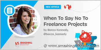 When To Say No To Freelance Projects