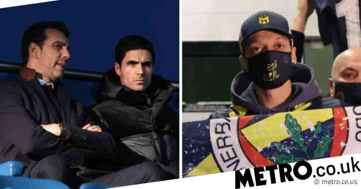 Mikel Arteta and Edu speak out after Mesut Ozil completes move from Arsenal to Fenerbahce