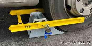 A1 und A4 bei Köln: Polizei stellt schlimme Lkw-Mängel fest - Express.de