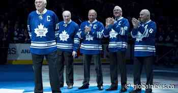 Former Maple Leafs captain George Armstrong dead at 90, team says