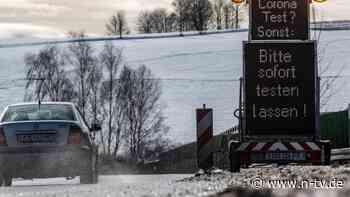 Anstrum auf Testzenter in Bayern: Grenzkontrollen führen zu langen Staus