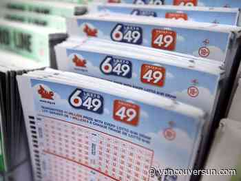 Check your Lotto 649 tickets! One of two $4.2 million winners sold in B.C.
