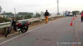 Motociclista morre em acidente de trânsito em Itabaianinha – Infonet – O que é notícia em Sergipe - Infonet
