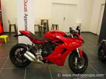 Ducati SUPERSPORT 939 2017 à 8490€ sur CHALON SUR SAONE - Occasion - Motoplanete