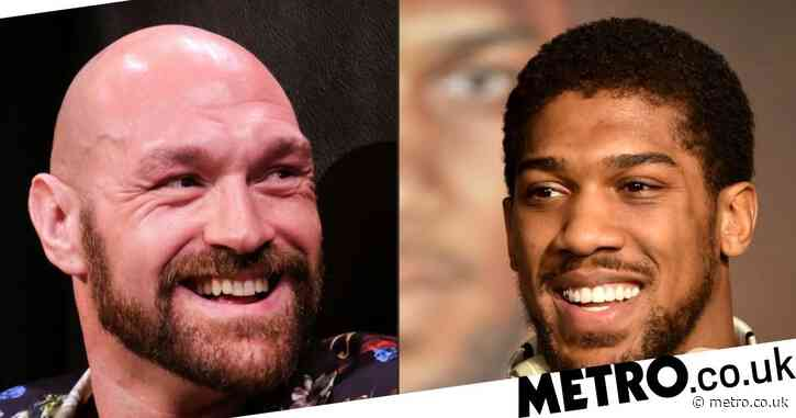 Anthony Joshua and Tyson Fury to exchange contracts this week as fight edges closer