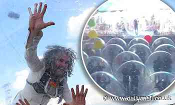 The Flaming Lips creatively combat coronavirus with long-awaited Space Bubble Concerts