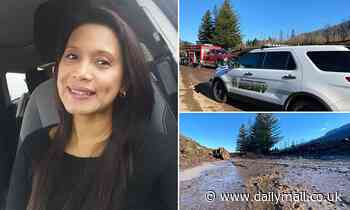Body of Oregon nurse, 50, is found buried under 15 feet of 'mud, rock and logs' after landslide