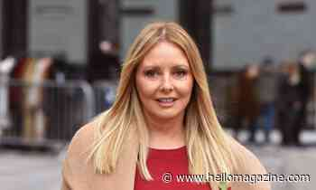 Carol Vorderman shows off stunning makeup-free look in winter workout photo