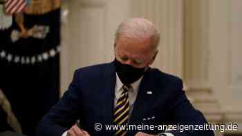 """Joe Biden vor gigantischem Problem: Neuer Minister sieht """"Flugzeug im Sturzflug"""" - und stichelt gegen Trump"""