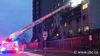Residents rescued from apartment fire started by 'smoking material,' fire department says