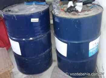 Polícia encontra depósito clandestino de combustíveis em Itapetinga - Voz da Bahia