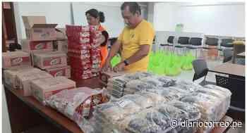 La Libertad: Alcalde de Santiago de Cao dona sueldo para comprar canastas de víveres - Diario Correo