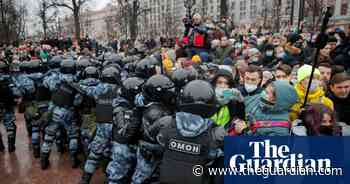Protesters demonstrate across Russia in support of Alexei Navalny – in pictures