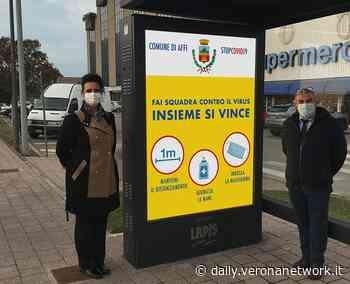 Affi, l'appello anti-Covid del sindaco in un cartellone luminoso - Daily Verona Network - Daily Verona Network