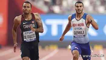 De Grasse fails to advance to 60-metre final at season-opening indoor meet