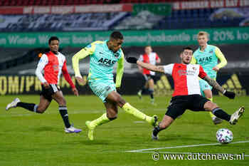 Feyenoord drop to fifth as AZ win in De Kuip, Ajax march on - DutchNews.nl - DutchNews.nl