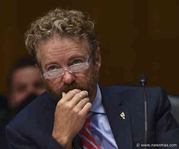 'Rand Paul Insists 'Great Deal Of Evidence' Of Election Fraud