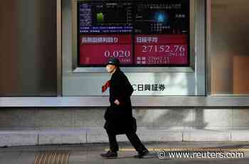 Asian shares under pressure on rising coronavirus cases - Reuters
