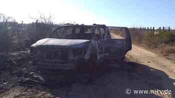 Grausiger Fund in Mexiko: Verbrannte Leichen nahe US-Grenze entdeckt