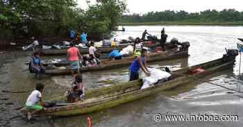 Los 905 indígenas desplazados de Bahía Solano, Chocó, comenzaron el regreso a su comunidad - infobae