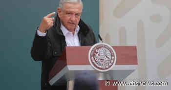 Mexican president says he has tested positive for COVID-19
