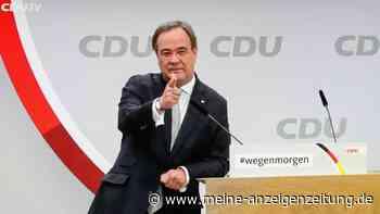 """Umfrage liefert Dämpfer für Laschet - Neuer CDU-Chef baut schon mal vor: """"Söder hat deutlich gemacht ..."""""""