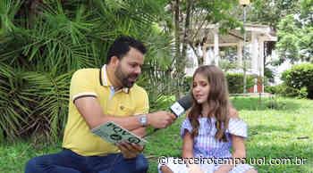 Fã mirim de Milton Neves, Rafa Lisa é apaixonada por Muzambinho e sonha em ser atriz - Notícias - Terceiro Tempo - Terceiro Tempo - Milton Neves