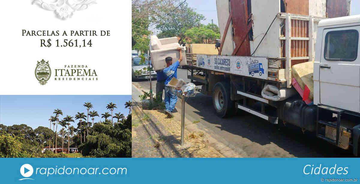 Região do Santina recebe Operação Só Cacareco esta semana em Limeira - Rápido no Ar
