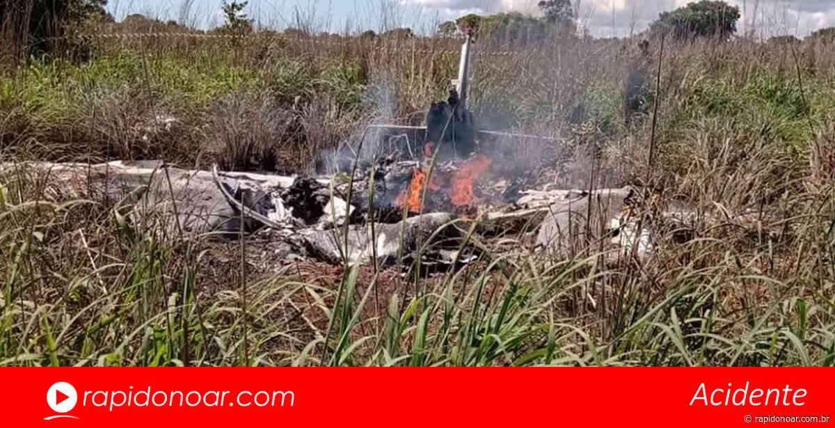 Ex-jogador da Inter de Limeira morre em acidente aéreo em Tocantins - Rápido no Ar