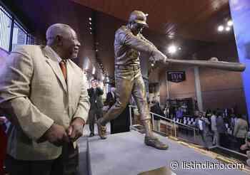 Recuerdan visita de Hank Aaron a ciudad de Pedernales - Listín Diario
