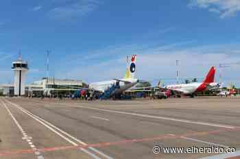 Aeropuerto de Riohacha recuperó el 54.84% de sus operaciones - EL HERALDO