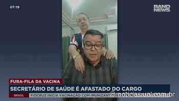 Secretário de Saúde de Pires do Rio (GO) é afastado após vacinar a esposa - UOL Notícias