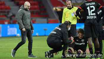 Julian Baumgartlinger verletzt: Bayer Leverkusen und Trainer Peter Bosz in Sorge um Mittelfeldmotor - Eurosport DE