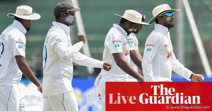 England chasing 164 to win second Test against Sri Lanka – live!