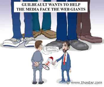 Serge Chapleau: The web giants | The Star - Toronto Star