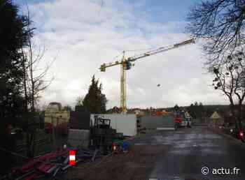 Pacy-sur-Eure : la construction de la gendarmerie est sur de bons rails - Normandie Actu